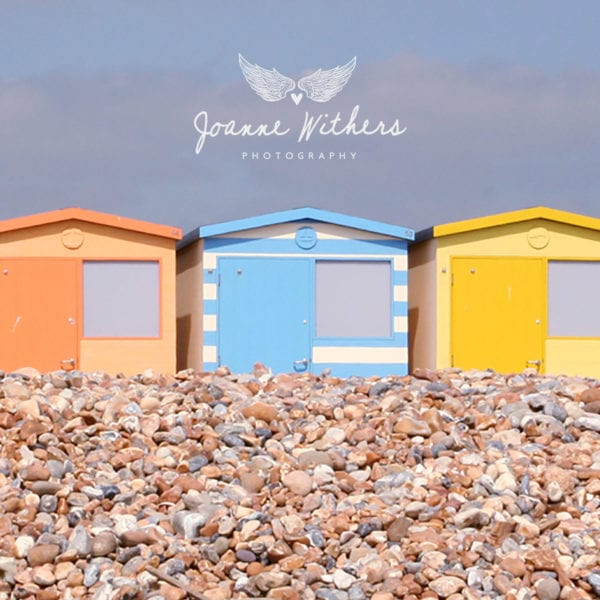 Beach Huts by Joanne Withers Photography