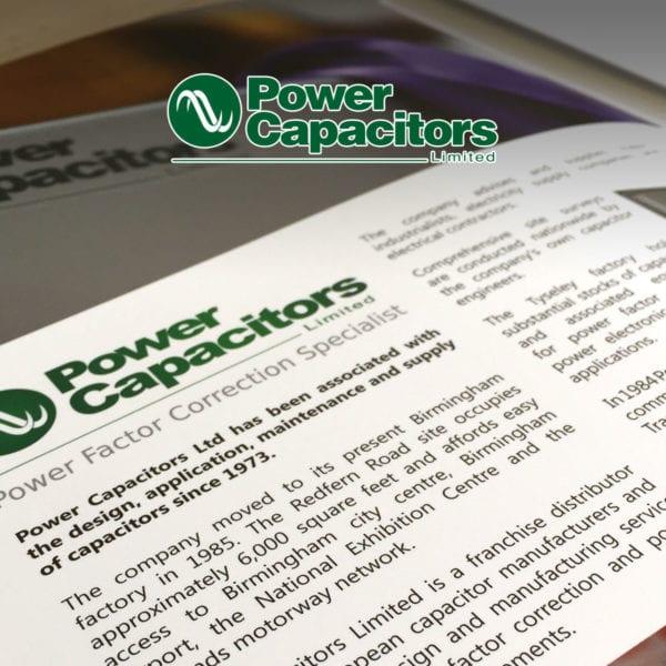Power Capacitors Presentation Folder