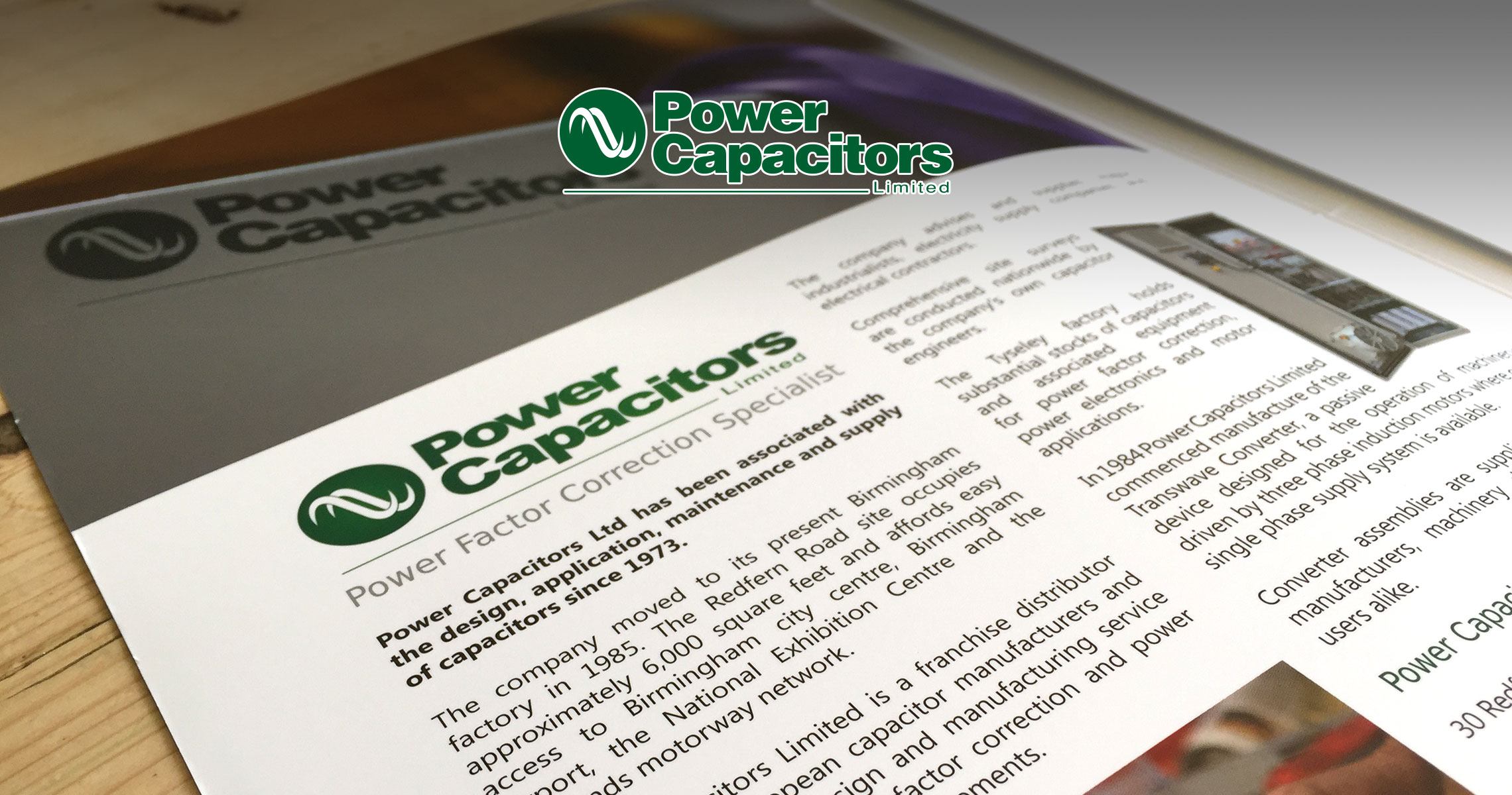 Power Capacitors Presentation Folder